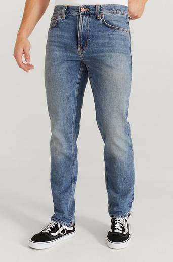 Nudie Jeans Jeans Gritty Jackson Old Gold Blå