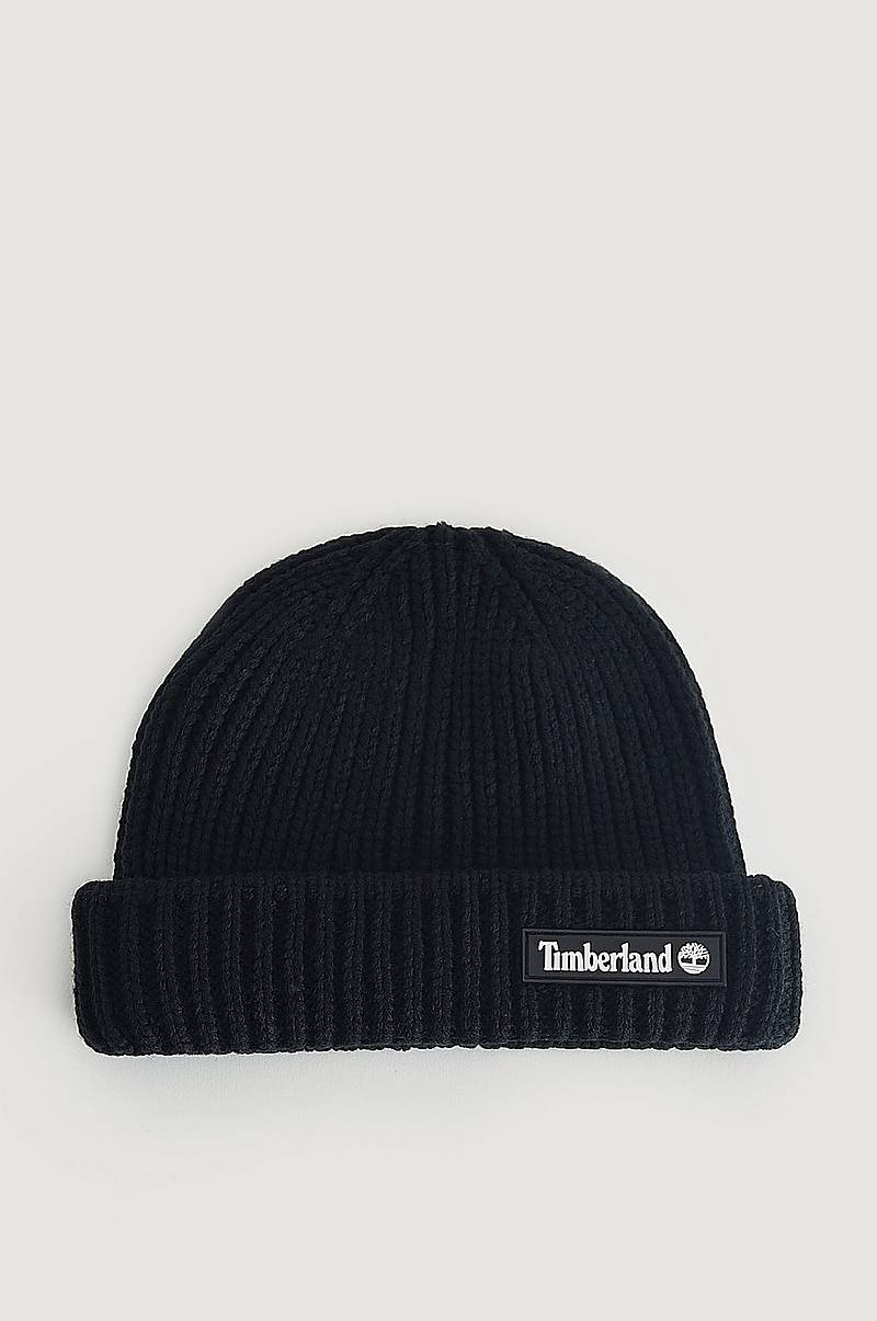 Mössa Shallow Beanie With Rubber Patch