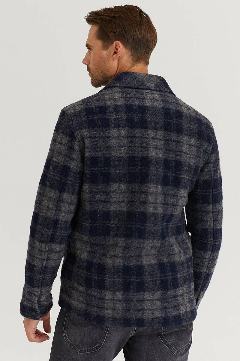 Jacka M Wool Shirt