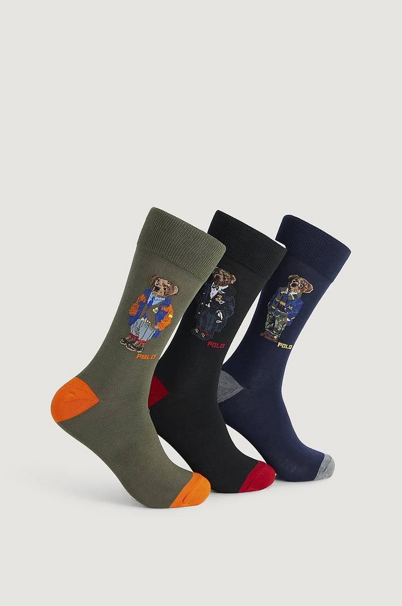 3-Pk Socks Gift Pack Bears