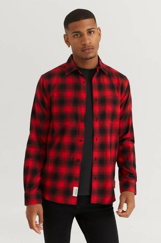 Kauluspaita Light Flannel Classic Shirt