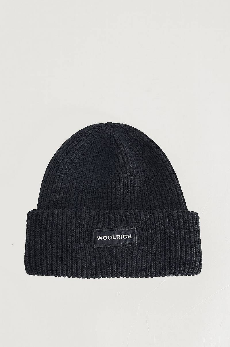 Lue Winter Wool Logo Beanie Hat