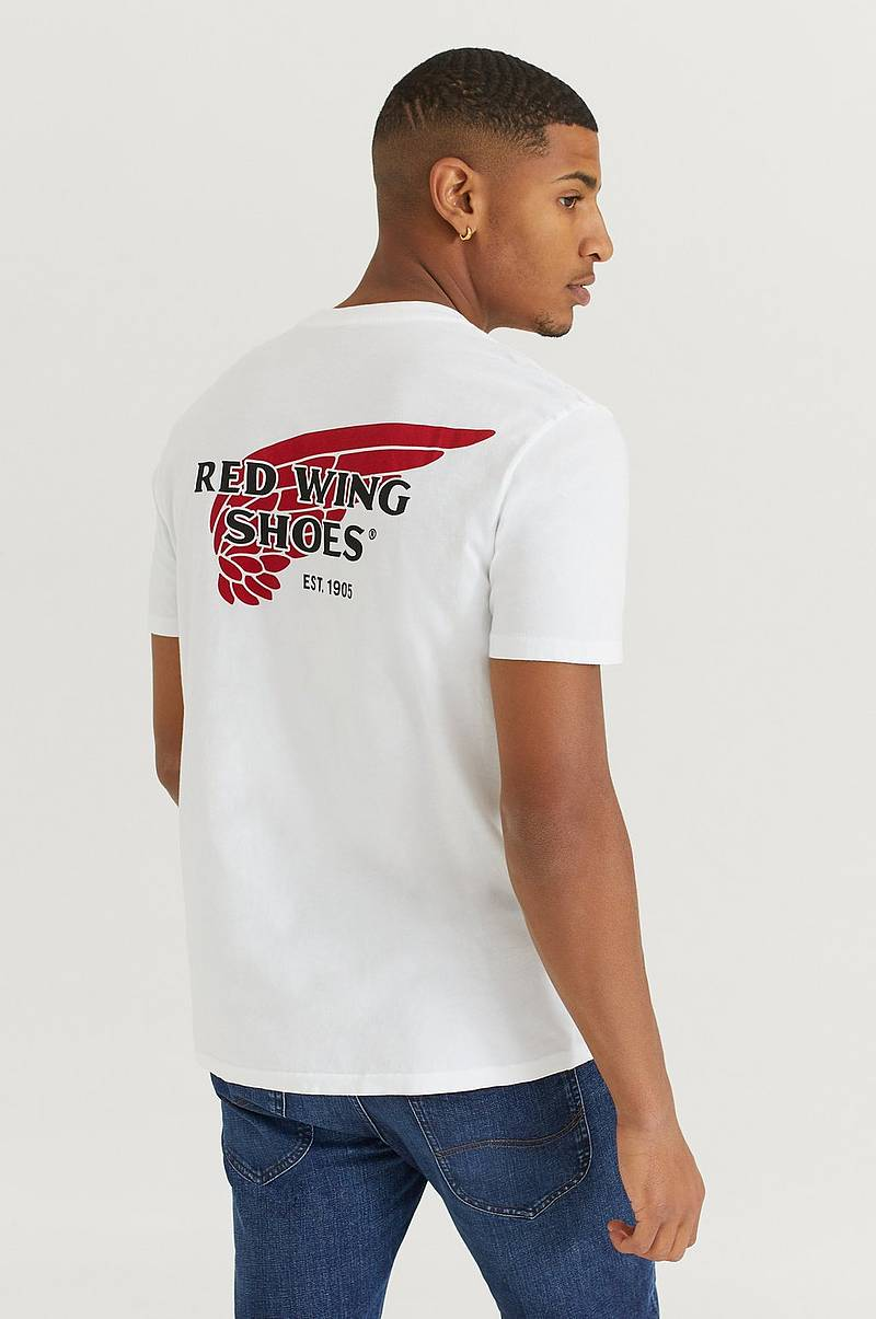 T-Shirt Red Wing logo Tee