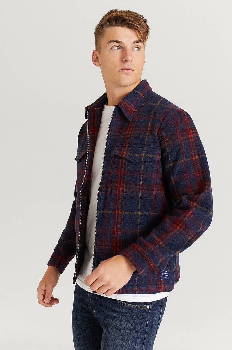 Overshirt Wool Blend Overshirt
