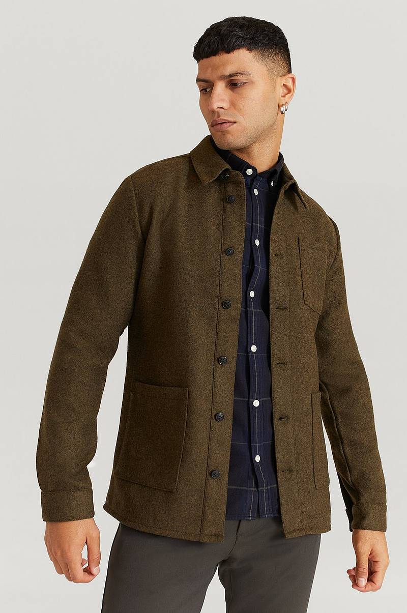 Overshirt Jason Wool Hybrid