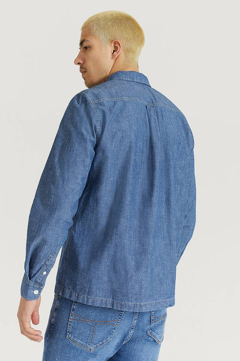 Paita Albert Chambray Shirt