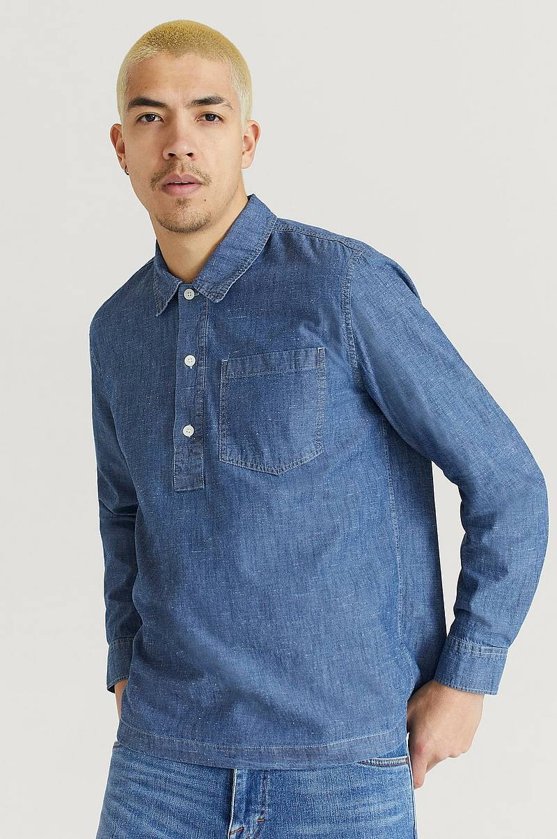 Skjorte Albert Chambray Shirt
