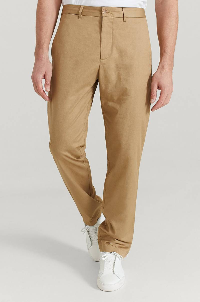 Marcus Light Twill Trousers