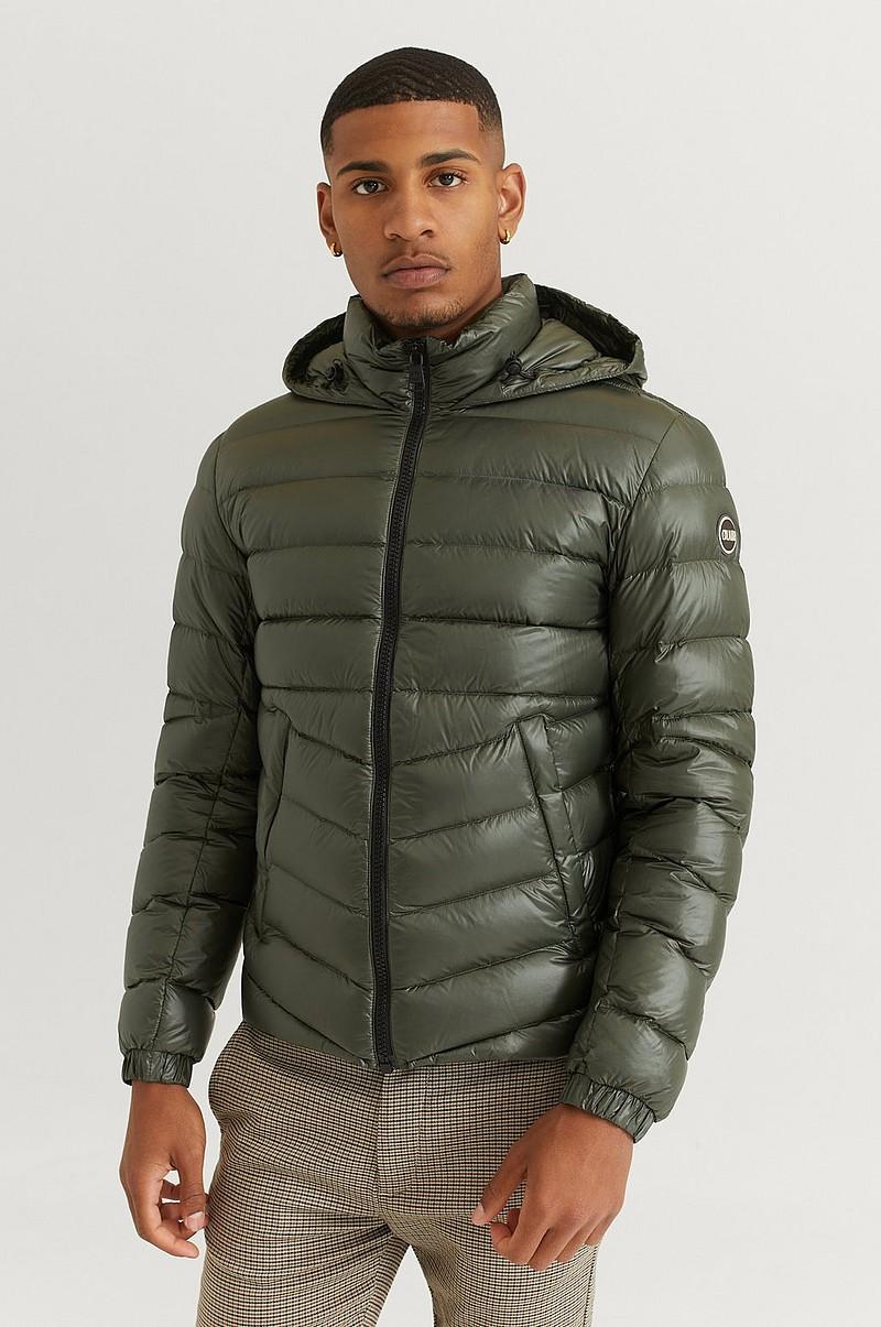 Colmar Dunjakke Hooded Down Jacket 3TW Grønn  