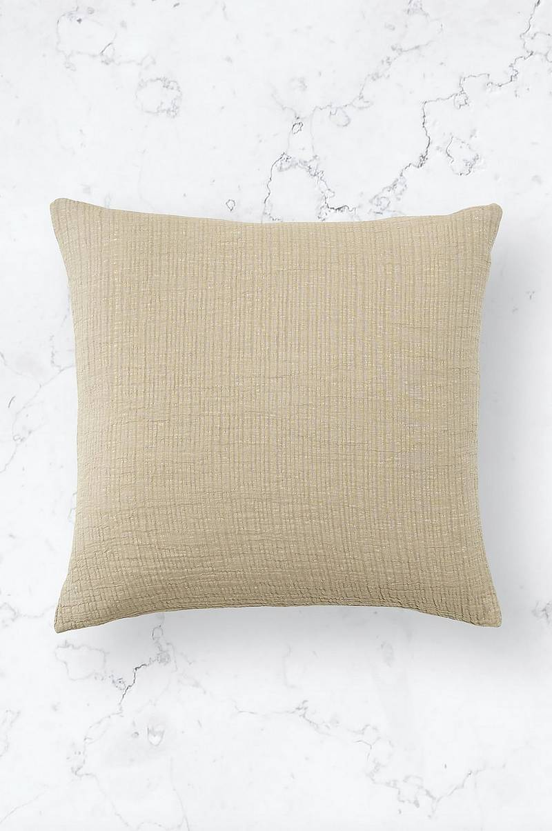 Kuddfodral Washed Cotton Cushion Cover