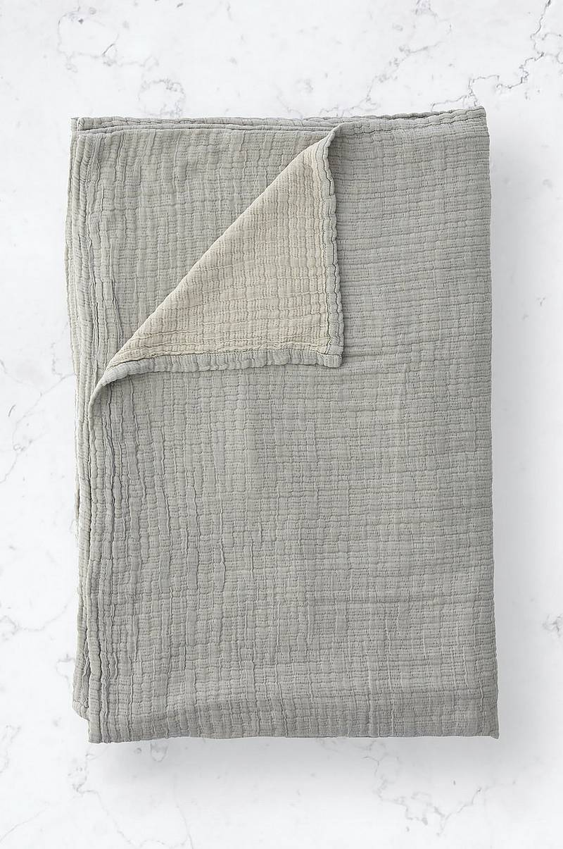 Överkast Washed Cotton Bedspread