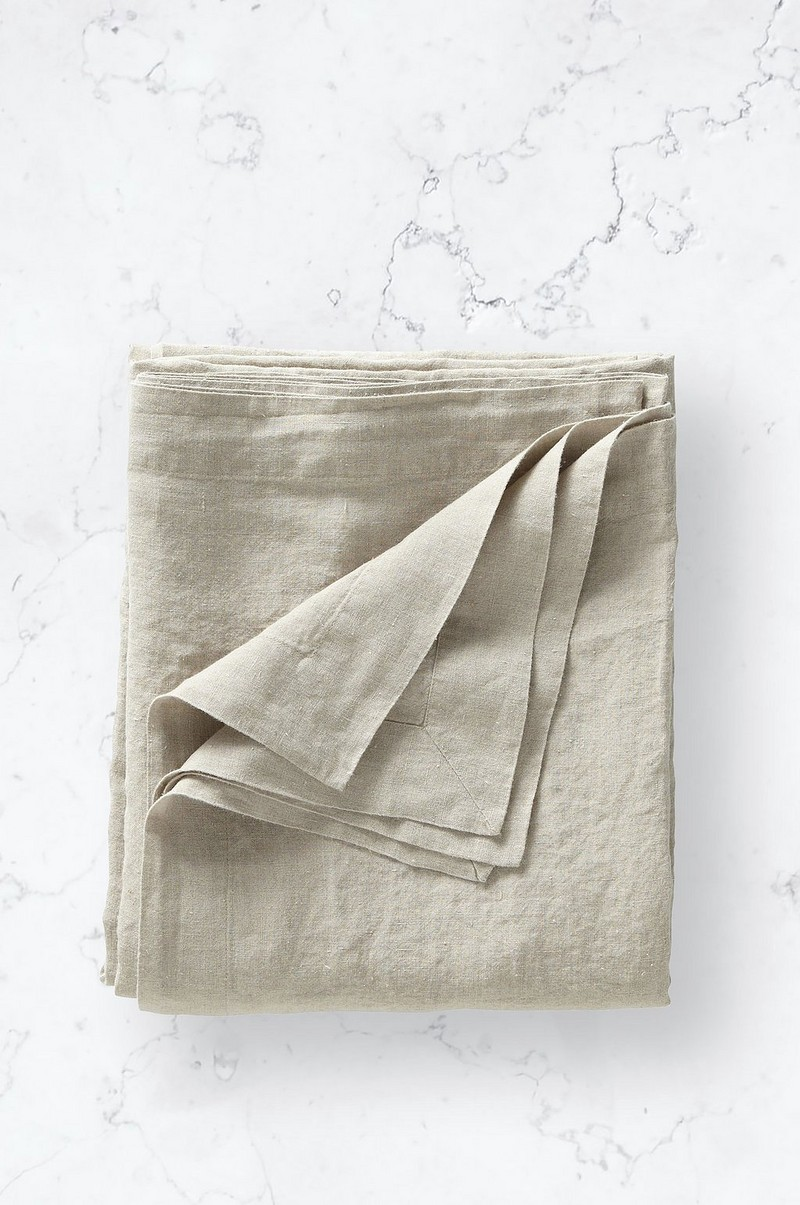 Underlakan Washed Linen Sheet