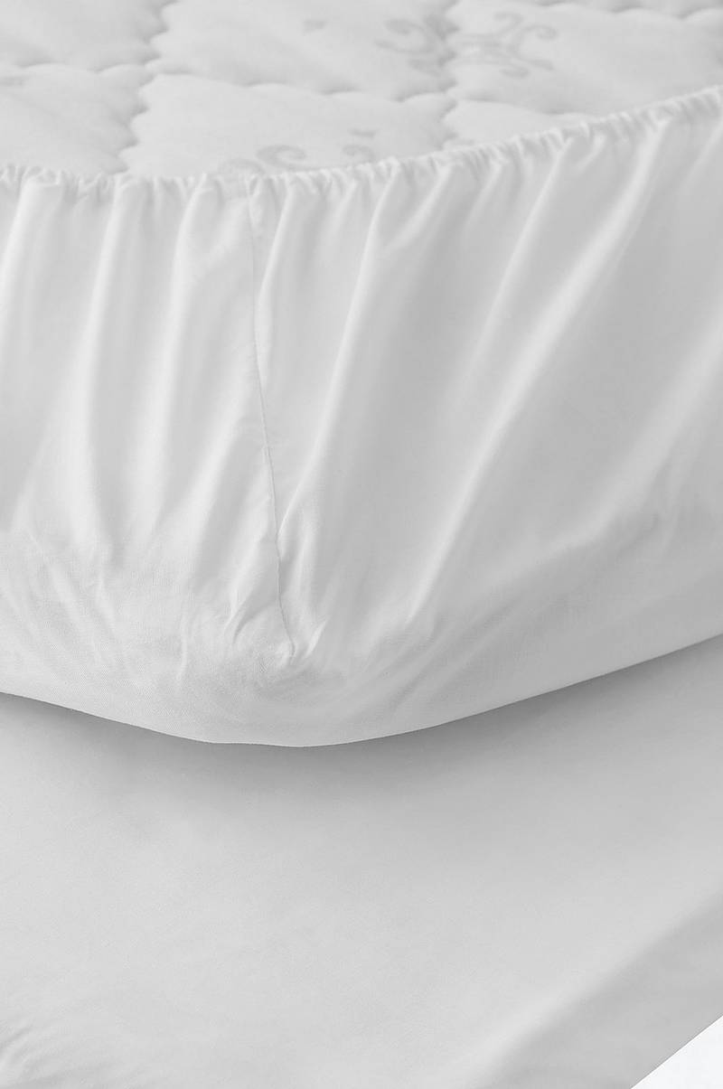 Lagen Cotton Percale Fitted Sheet