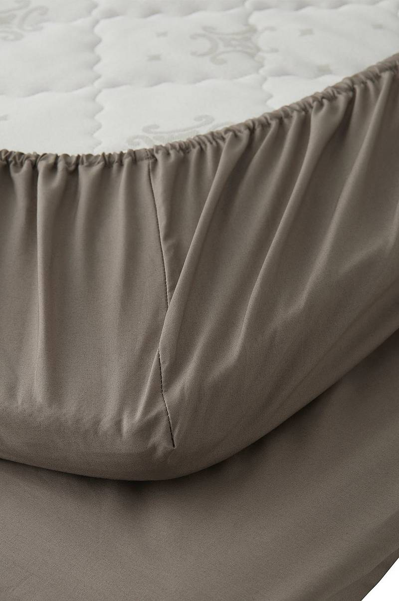 Underlakan Cotton Percale Fitted Sheet