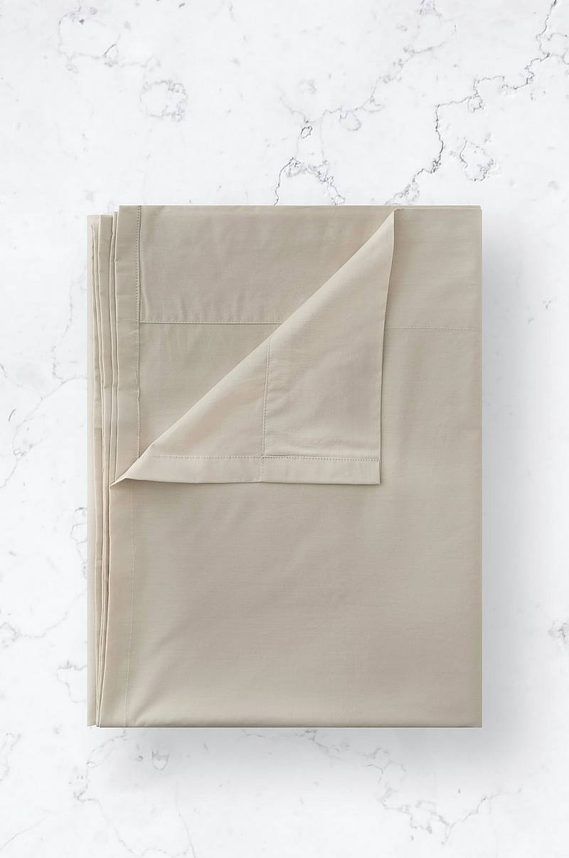 Lagen Cotton Percale Flat Sheet