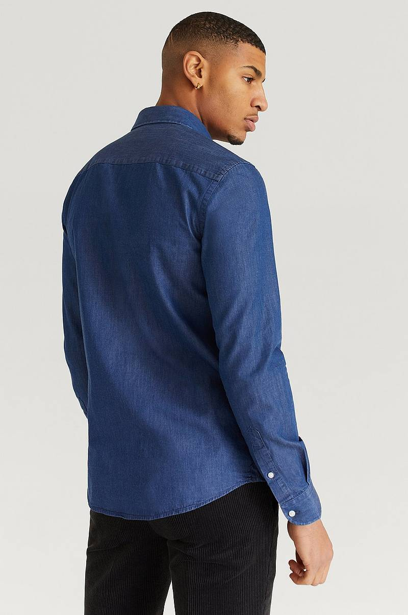 Skjorta Luca Denim Shirt