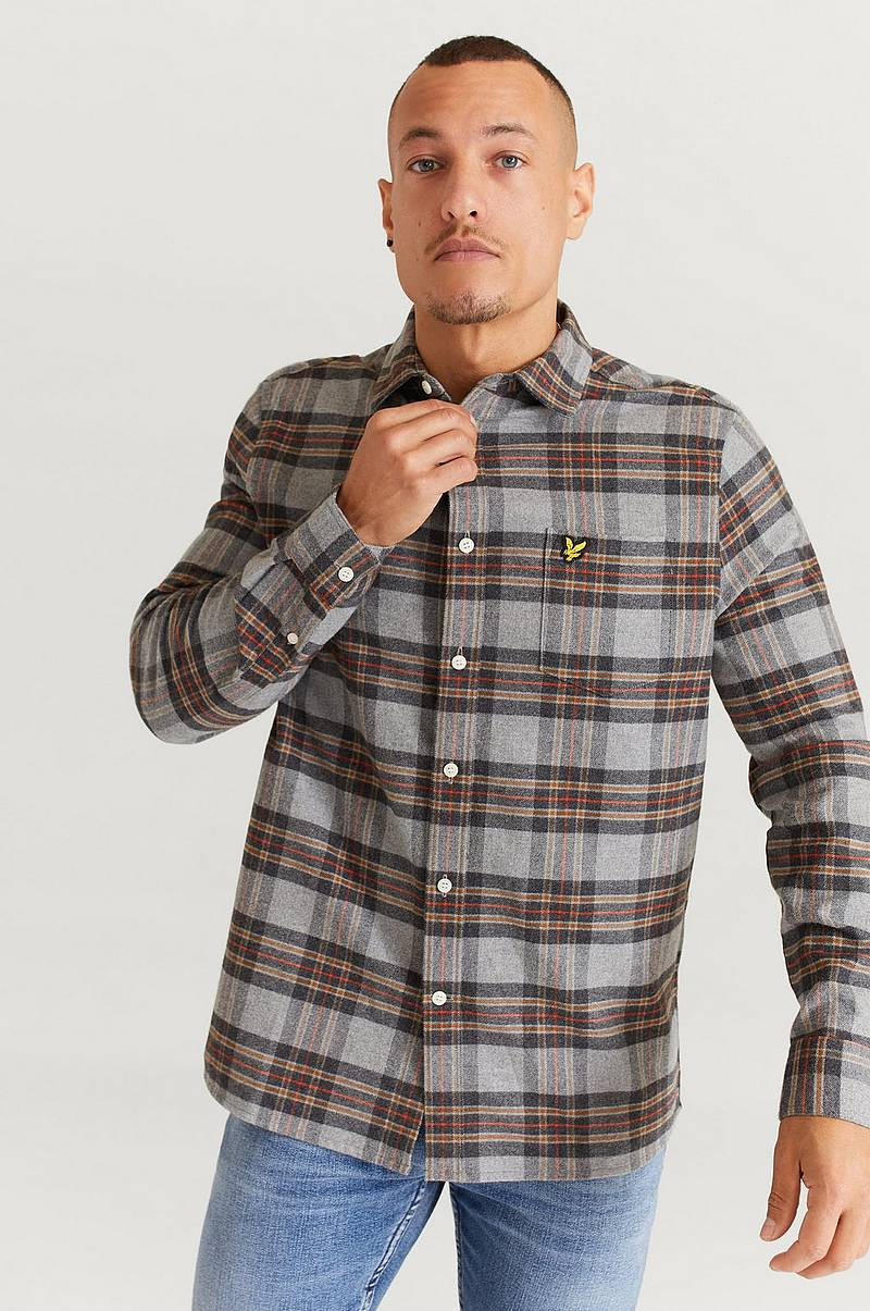 Overshirt Brushed Check Shirt