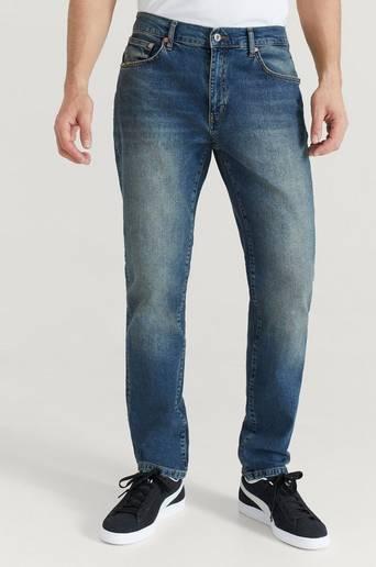 Woodbird Jeans Doc Sevil Blue Jeans Blå