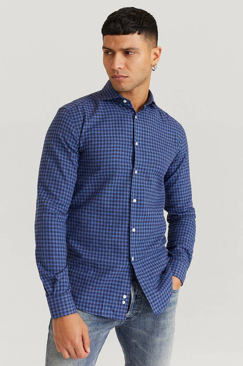 Skjorte Benito Small Check Shirt