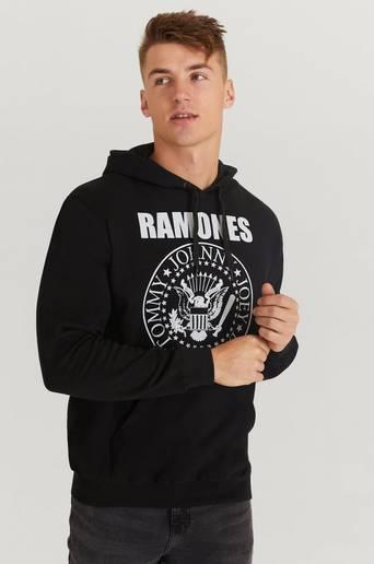 Rock Off Hoodie Ramones Hoodie Svart
