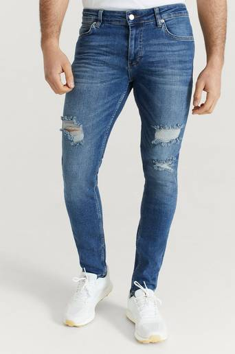 Just Junkies Jeans Max Of 163 Holes Blå