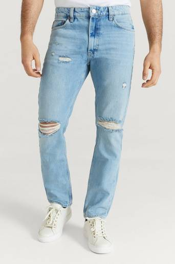 Just Junkies Jeans Mag Vintage Blue Holes Blå