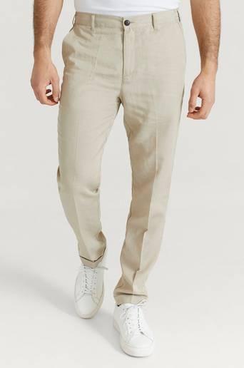 Les Deux Byxor Pino Linen-Tencel Pants Natur