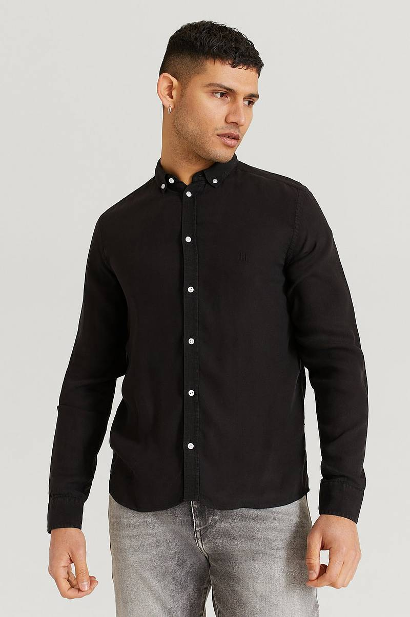 Skjorte Laurent Tencel Dobby Shirt