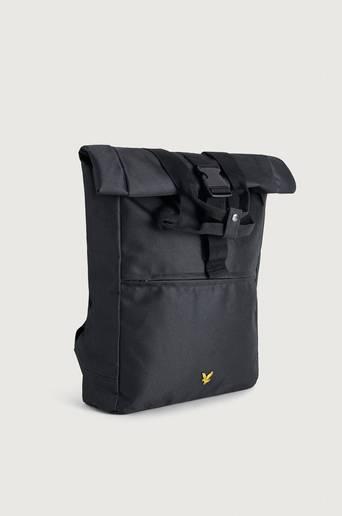 Scott Lyle & Scott Ryggsekk Roll Top Backpack Svart  Male Svart