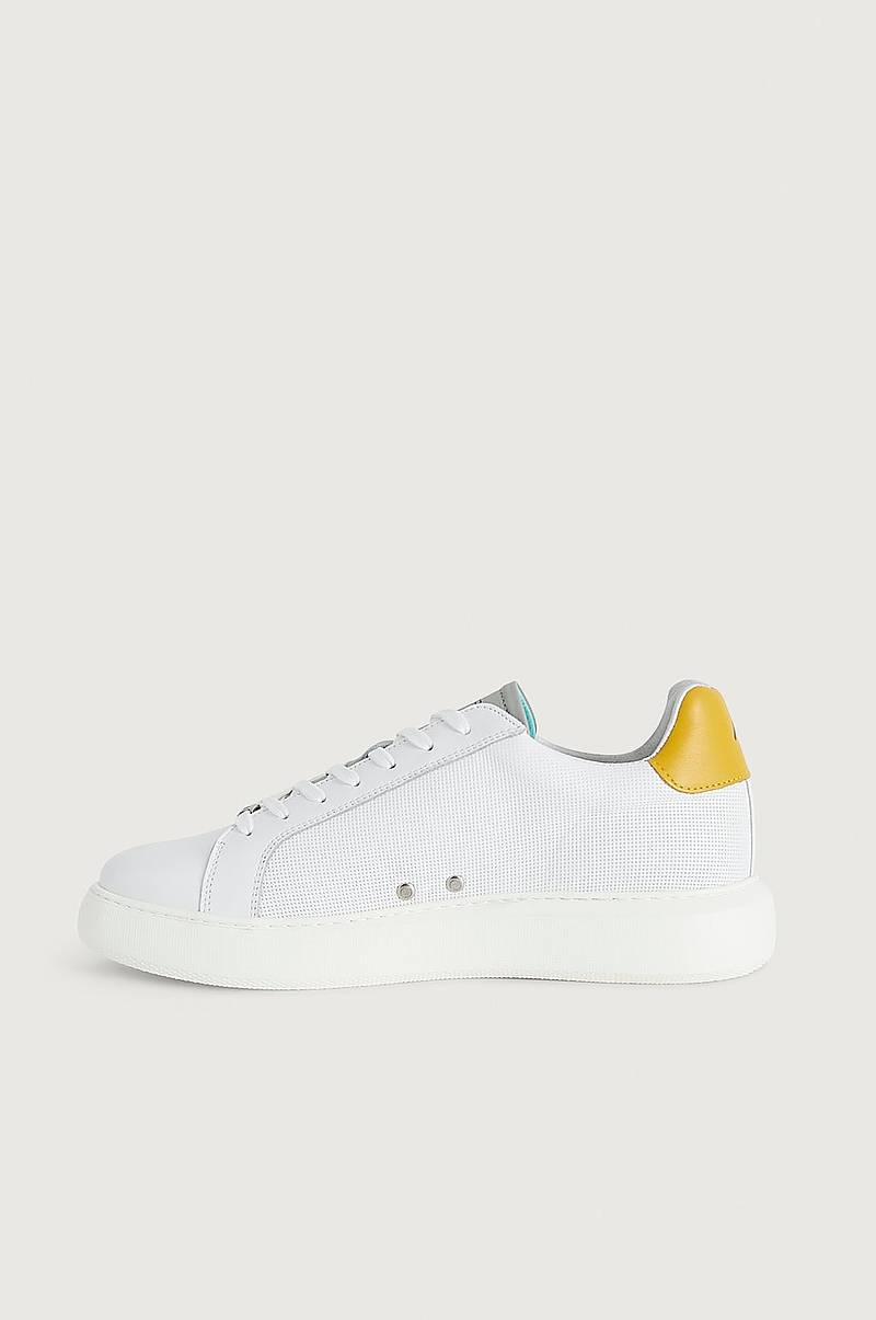 Sneakers Eclipse 10634A-3494AM White-Yellow
