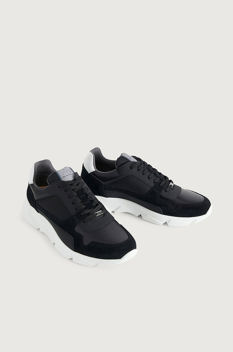Sneakers City Run 9509-5556AM Black