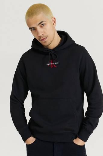 Calvin Klein Jeans Hoodie New Iconic Essential Hoodie Svart