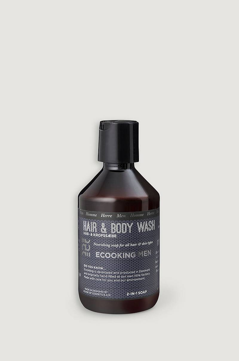 Ecooking Men Hair & Body Shampoo 250ml