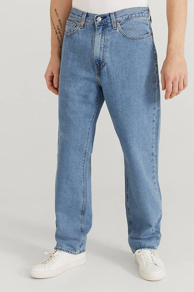 Jeans Stay Loose Denim Spotted Road