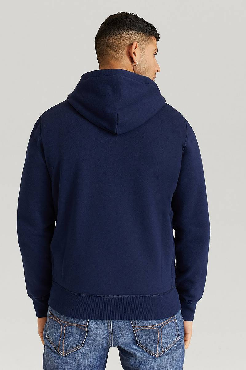Huppari KSC23A Athletic Fleece Zip Hood