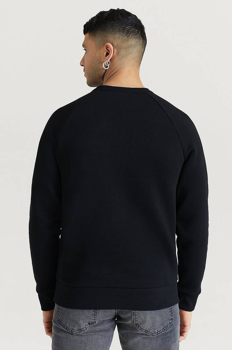 Collegepusero M Original Crew-BLACK