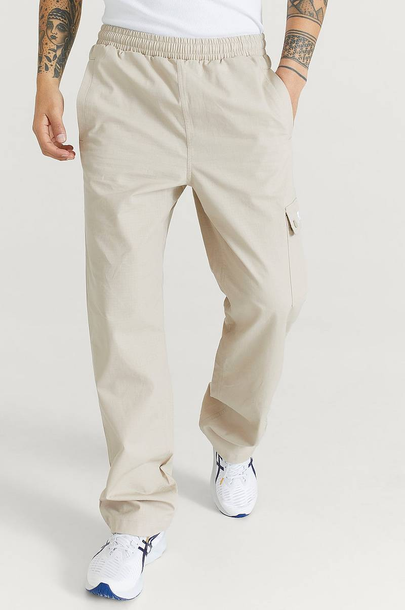 Byxor Men Flan Cargo Pants
