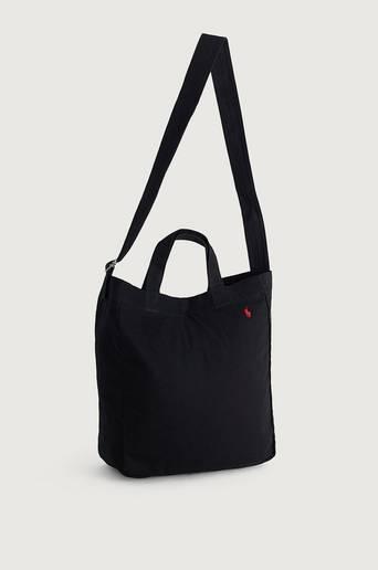 Polo Ralph Lauren Tygpåse Canvas Tote Bag Svart