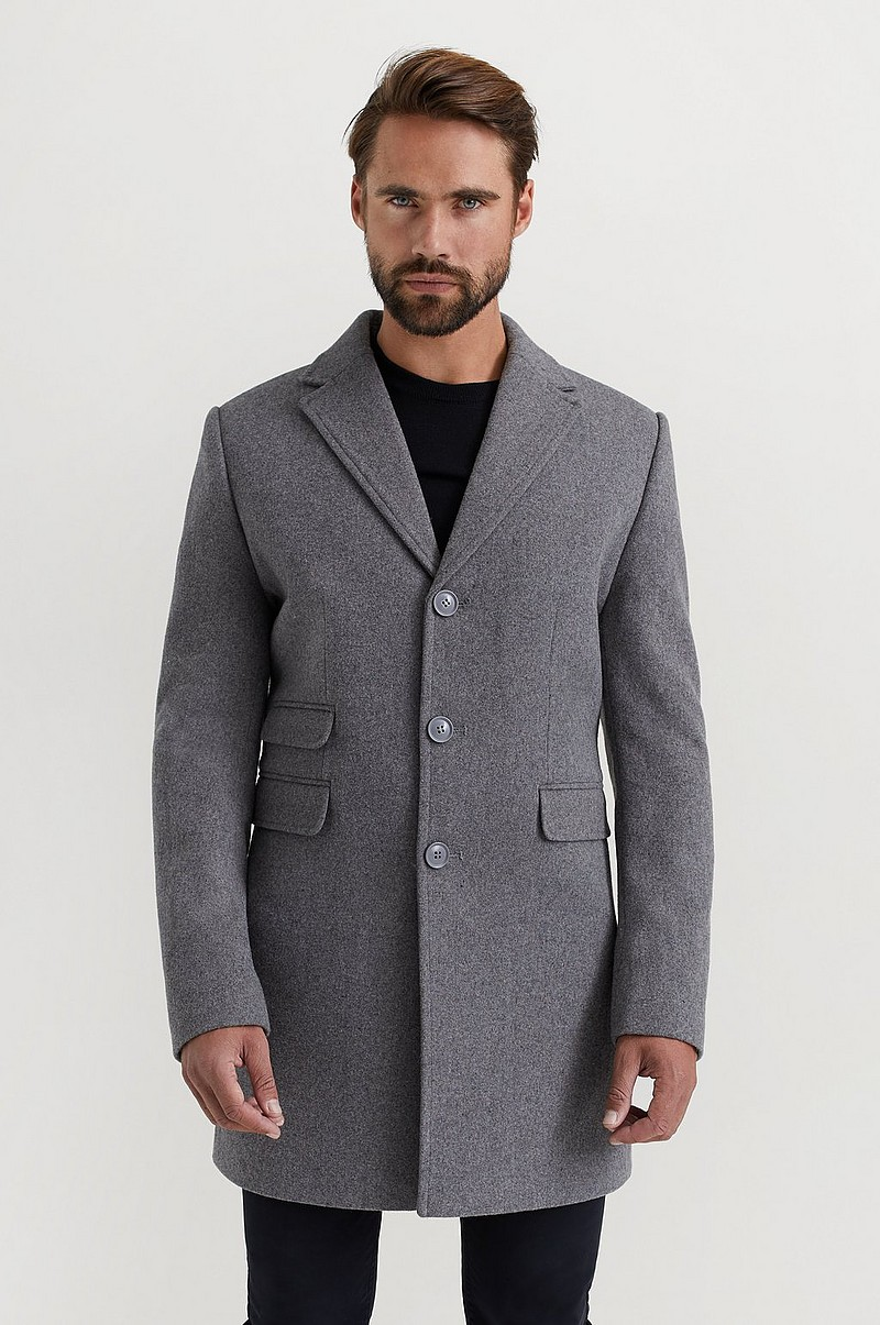 Frakk Mid Length Coat