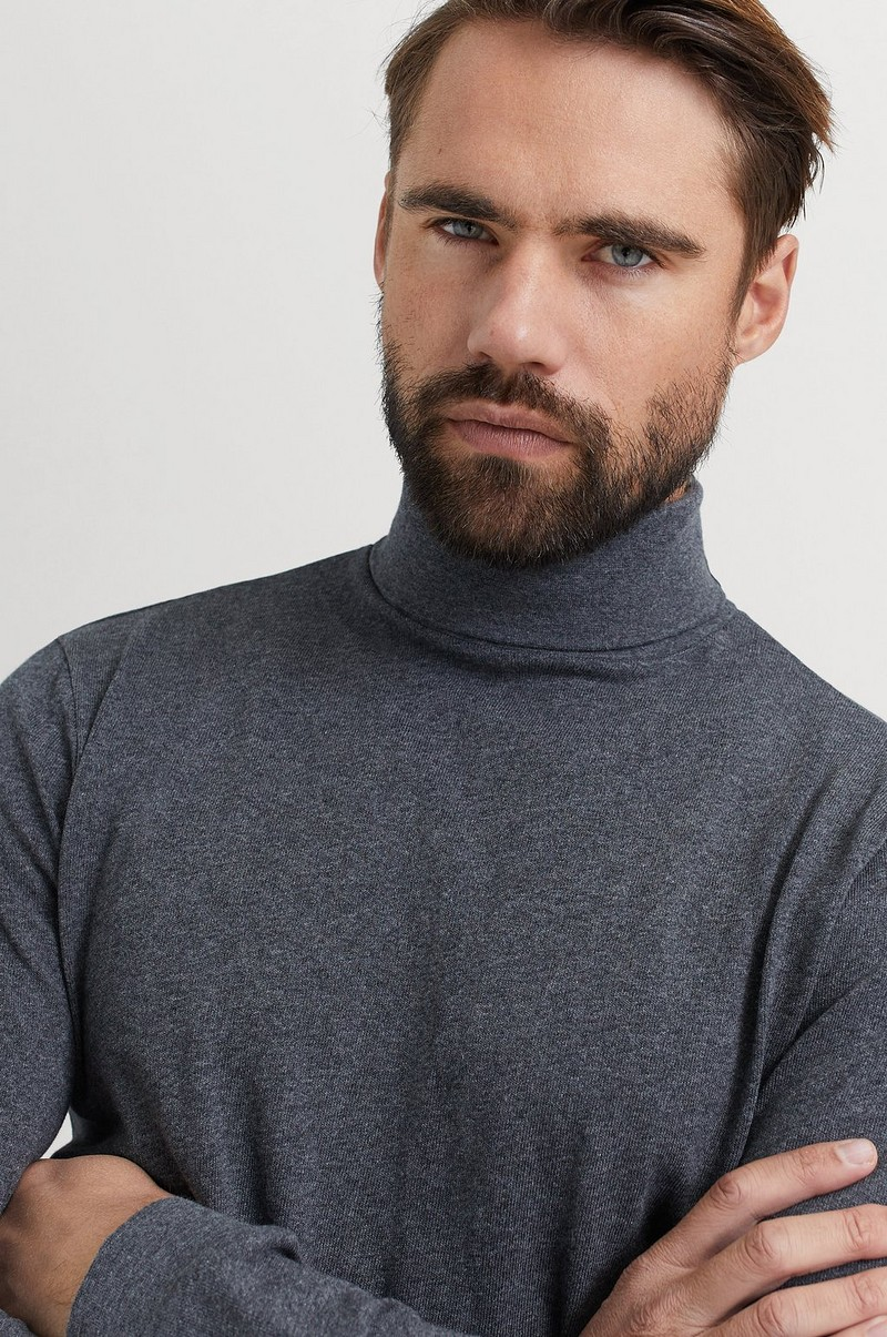 Poolopusero David Roll Neck