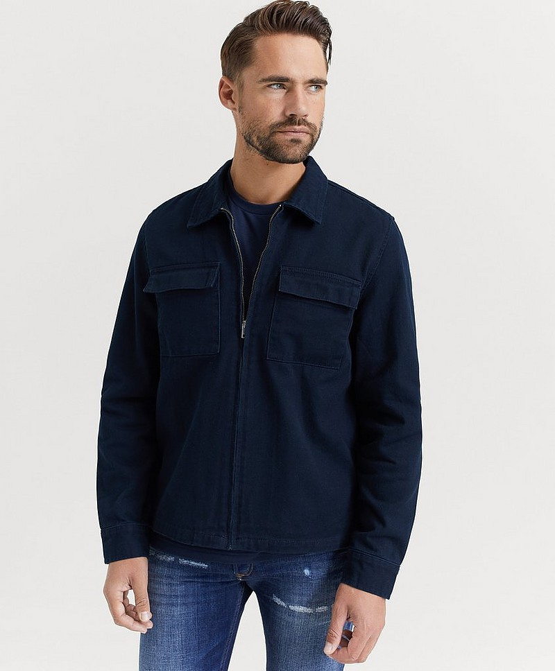 Overshirt Light Zip Jacket