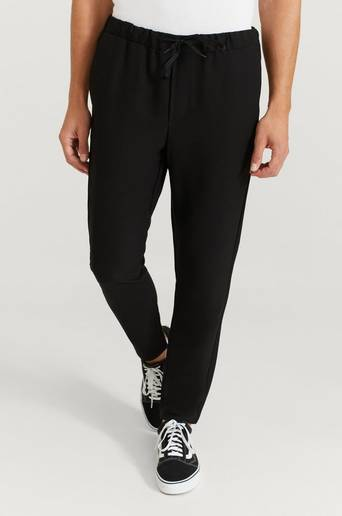 William Baxter Byxor Drawstring Trousers Svart