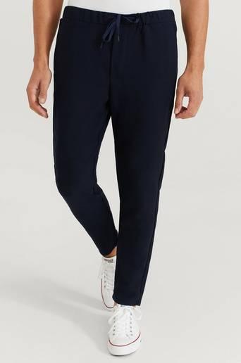 William Baxter Byxor Drawstring Trousers Blå