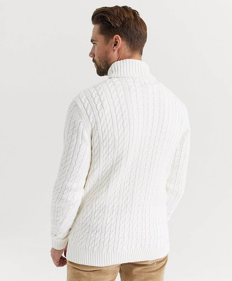 Poolopusero John Cable Roll Neck