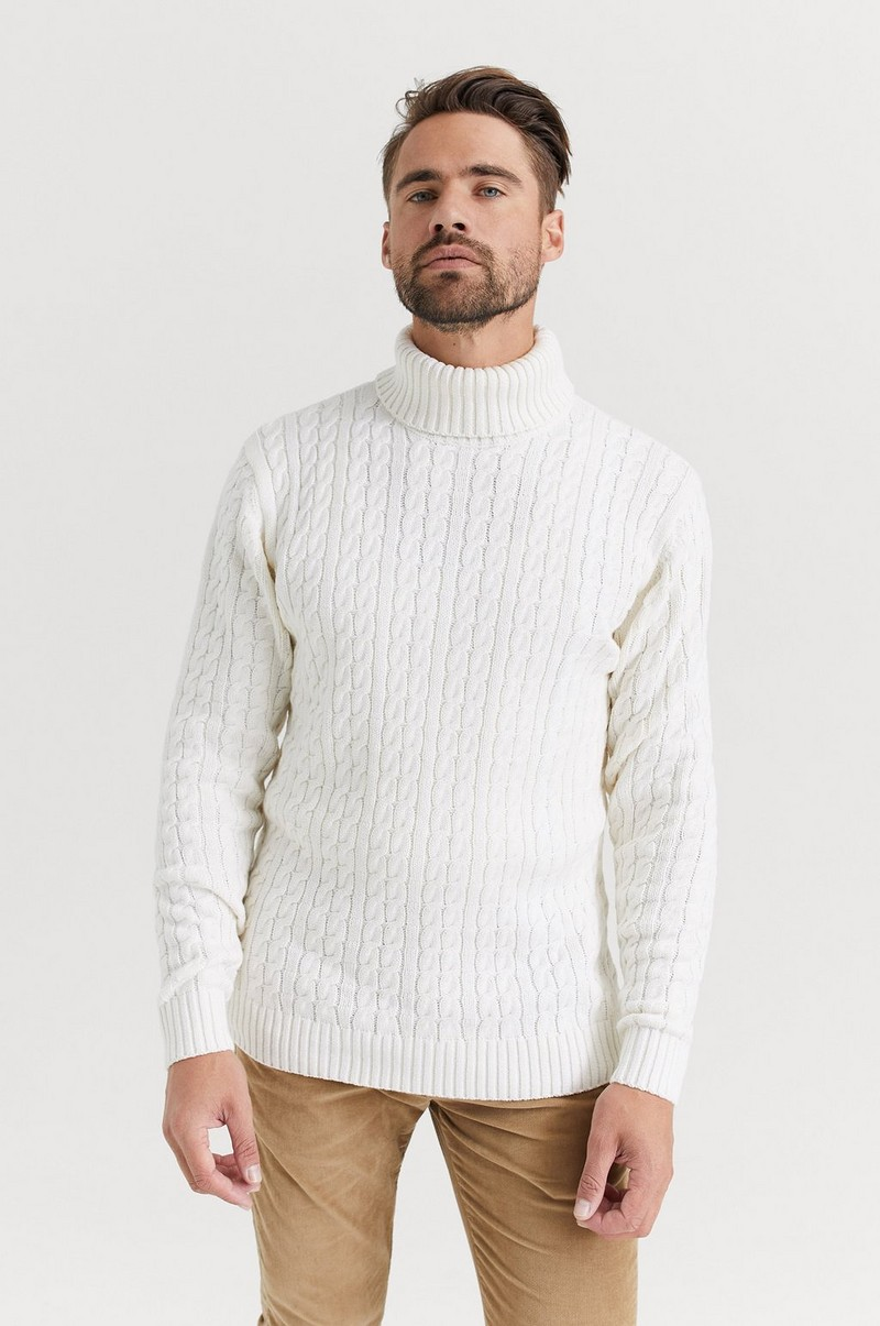 John Cable Roll Neck