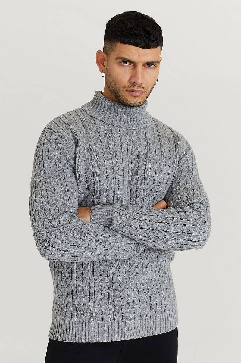 Rullekravetrøje John Cable Roll Neck