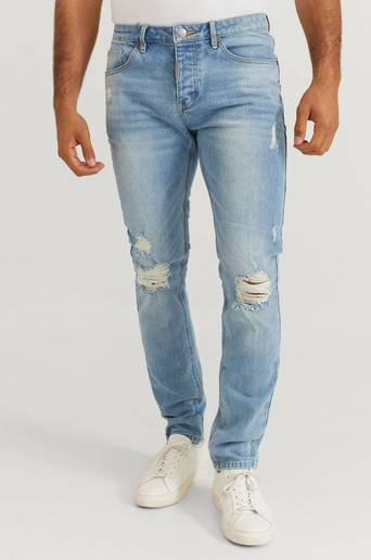 Bilde av Adrian Hammond Nevada Jeans Blå