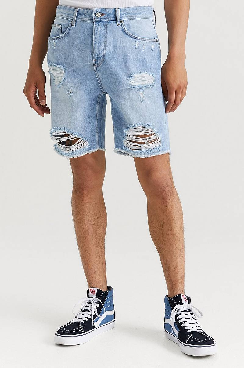 Denimshorts Ripped Denim Shorts