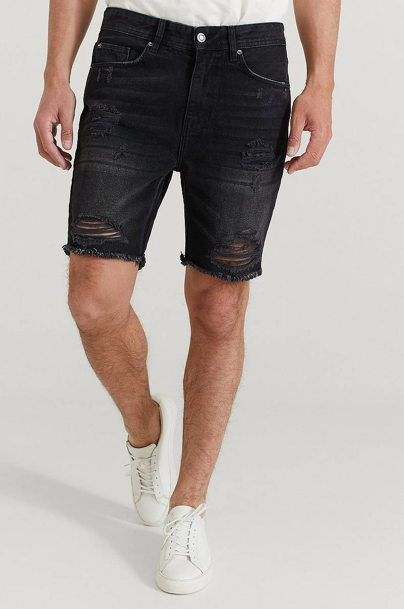 Jeansshorts Ripped Denim Shorts