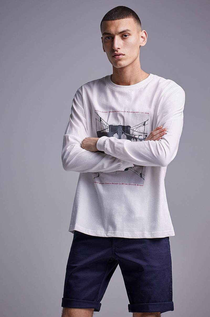 Genser Mirror Bridge Ls tee